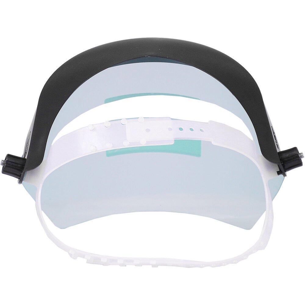 """Protetor Facial Incolor 8"""" sem Catraca Carbografite"""